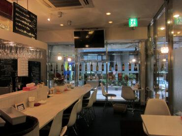 ワインカフェ ROUTE52 の店舗が完成しました